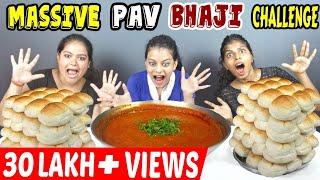GIRLS PAV BHAJI EATING CHALLENGE | PAV BHAJI EATING COMPETITION | FOOD CHALLENGE (Ep-168)