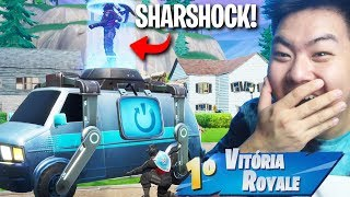 I USED THE NEW REBOOT VAN TO SAVE THE SHARSHOCK!! | FORTNITE