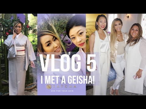 VLOG 5: I MET A GEISHA!!! with TATCHA | Arika Sato