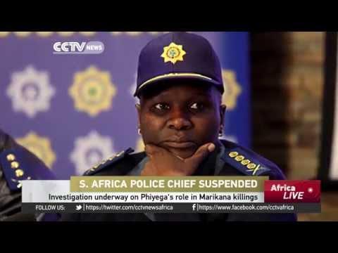 Investigation underway on Phiyega's role in Marikana killings