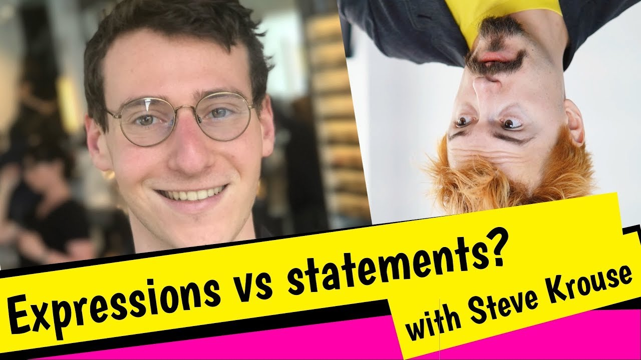 Download Expressions versus statements? The future of functional programming (with Steve Krouse)