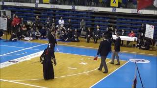 Kendo Open de France 2017 FINAL 4e Dan IZAWA YUSAKU Japan VS NAKABAYASHI KOICHI France