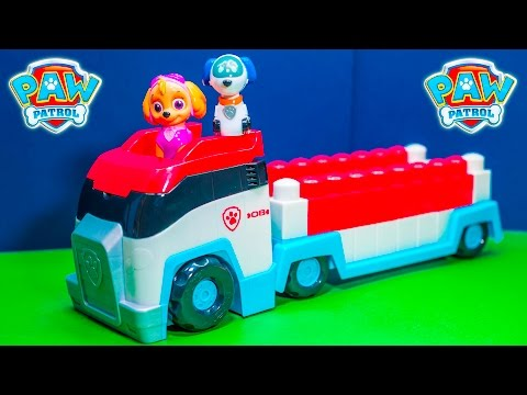 PAW PATROL Nickelodeon Ionix Paw Patroller with Robodog New Surprise Paw Patrol Toys Video