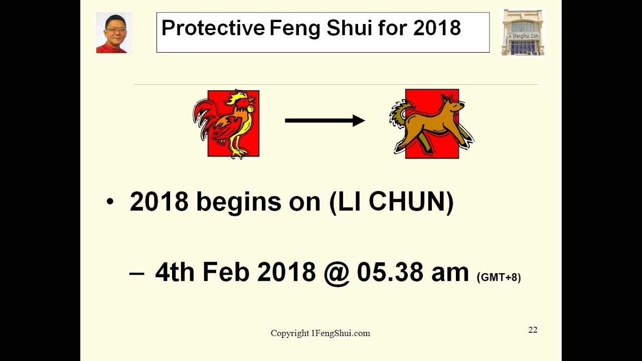 Protective Feng Shui For 2018 Youtube