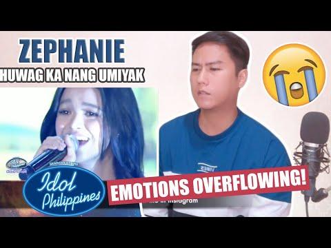 Baixar Zephanie - Huwag Ka Nang Umiyak - Idol Philippines   Top 6   REACTION