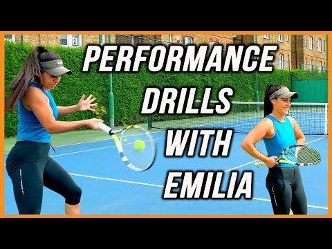 Tennis Drills | High Performance Forehand Drills | Professional Tennis Training | Supreme Tennis