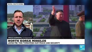 North Korea Launches Suspected Ballistic Missiles