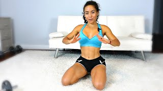 How To Get Slim Side Abs Workout!