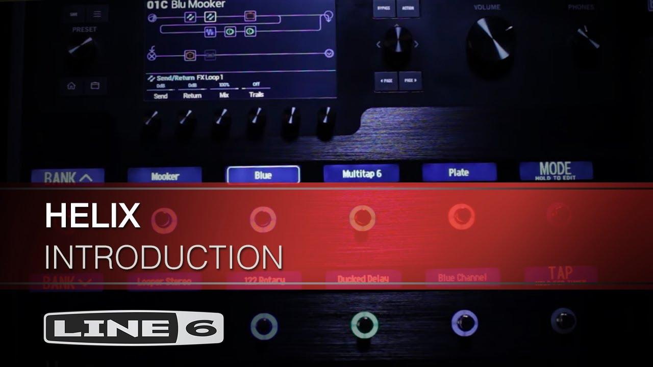 Line 6 Helix Guitar Processor [REVIEW] — Pro Audio Files
