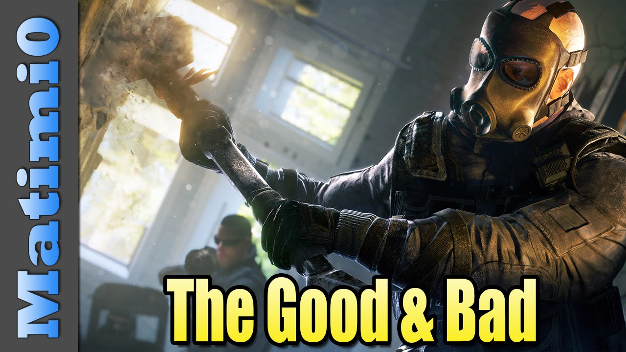 how to get good at rainbow six siege