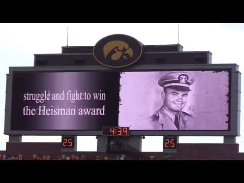 Nile Kinnick Heisman Speech via Hawkeyes for Life (Facebook)