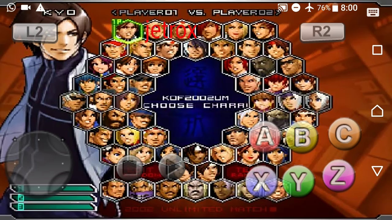 Mugen Kof 2002 Um Para Android Y Pc Youtube
