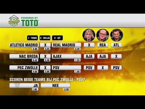TOTO: PSV wint van PEC Zwolle - VOETBAL INSIDE