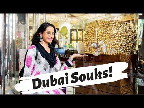 Dubai Trip On A Budget | Inside Dubai's Gold Market