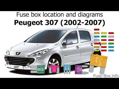 peugeot 307 fuse box horn repair manual Peugeot 207 Fuse Box