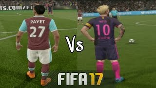 "Fifa 17   dimitri payet vs lionel messi ""freekick battle""   hd 1080p"