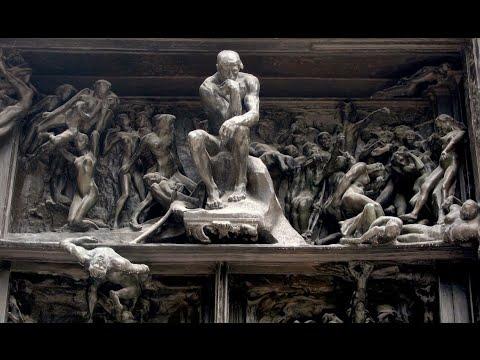 фото мыслитель скульптура