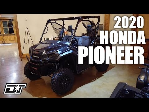 2020 Honda Pioneer 1000 Walk Around & First Impressions