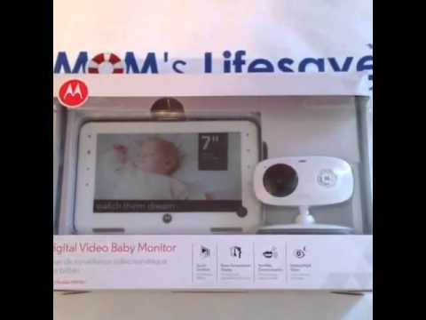 motorola digital video baby monitor product review youtube. Black Bedroom Furniture Sets. Home Design Ideas