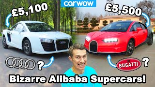 The most bizarre Alibaba budget 'supercars'!
