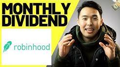 Monthly Dividend Stocks 2019 on Robinhood App