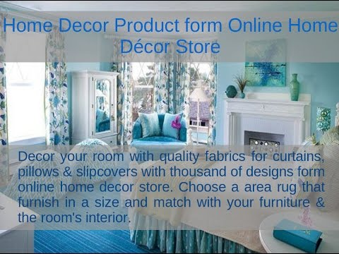 Designer Home Fabrics and Area Rugs form Online Home Décor Store