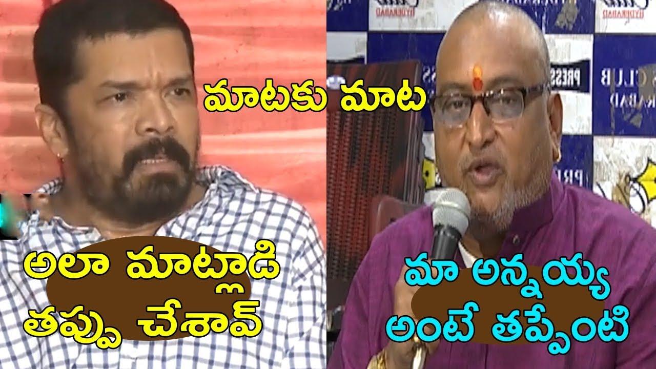 War Of Words Between Posani Krishna Murali VS Comedian Prudhvi Raj   Cinema Politics
