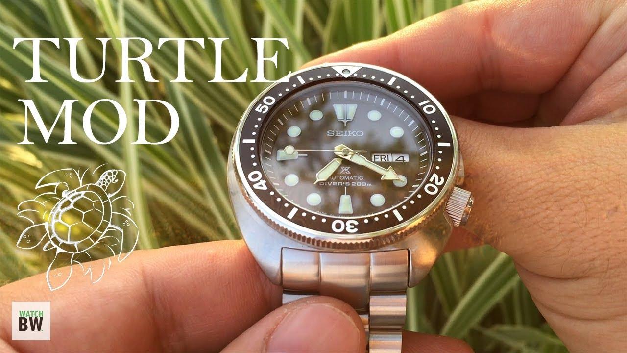 Seiko Turtle Mod - Improving the SRP777