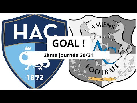 Le Havre Amiens Goals And Highlights