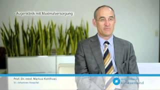 Gambar cover Kurzporträt Prof. Dr. med. M. Kohlhaas und die Augenklinik Dortmund
