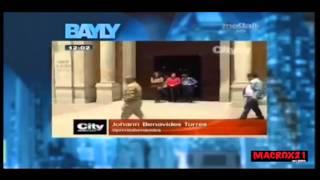 JAIME BAYLY MENCIONA A CITYNOTICIAS EN SU SHOW. CANAL MEGA TV, MIAMI, FLORIDA. ABRIL 2-2015