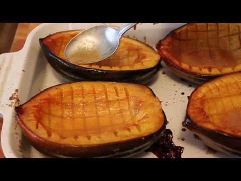 Baked Acorn Squash Recipe - Maple Glazed Squash