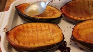 Baked Acorn Squash Recipe - Maple Glazed Squash