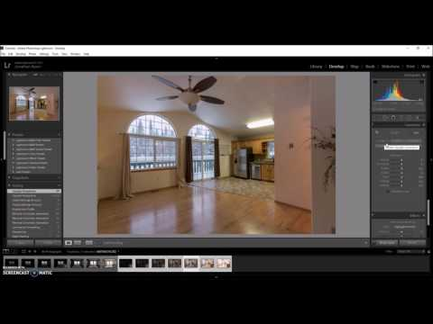 HDR Real Estate  Interior in Lightroom and Photomatix Pro