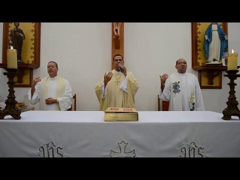 Missa de posse do padre Paulo Roberto na paróquia Stª Cruz - 14/05/2017