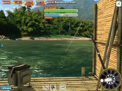 Fishing Paradise 3D - 60lb Arapaima In The Mekong River On Cutfish Bait