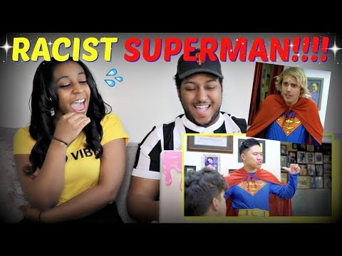 """""""Racist Superman"""" By Rudy Mancuso, Alesso & King Bach REACTION!!"""