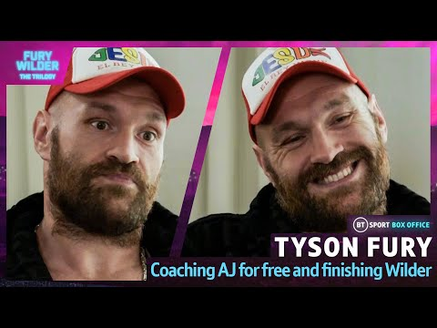 """""""I would train AJ to beat Usyk for free!"""" Tyson Fury on Joshua fight and Wilder trilogy"""