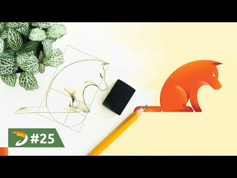 How To Design a Dog Logo With Golden Ratio | Adobe Illustrator Tutorial