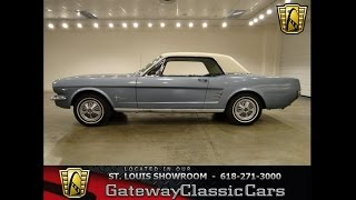 1966 Ford Mustang-Gateway Classic Cars in St. Louis, MO