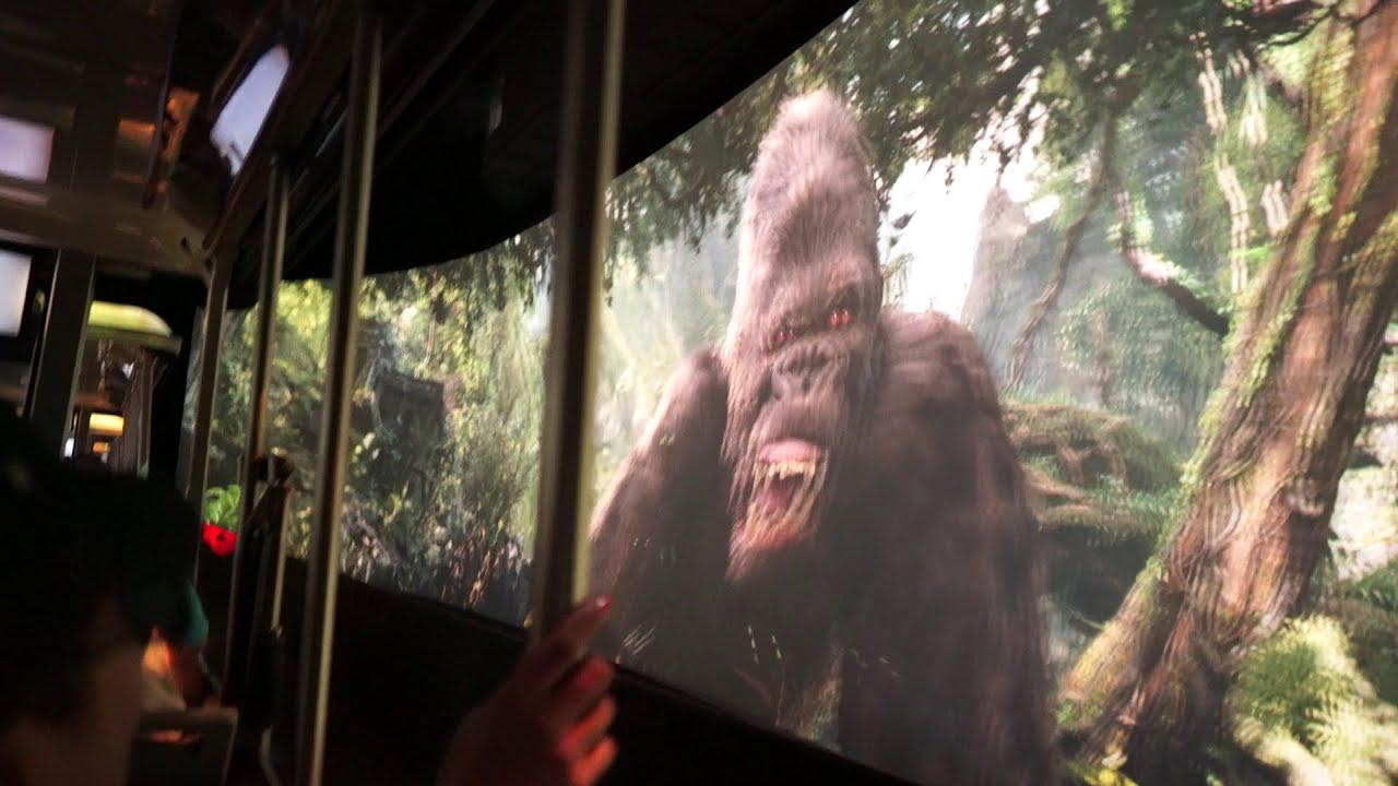 King Kong 360 3d Universal Studios Hollywood King Kong 360 3D POV o...