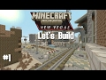 Minecraft: Fallout New Vegas Let's Build Part 1 - I don't know what I'm talking about
