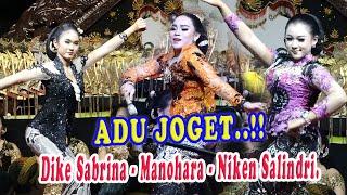 Download lagu LOMBA JOGET..DIKE SABRINA - MANOHARA - NKEN SALINDRI...AYOO...SIAPA YANG HOT JOGETNYA....!!!!