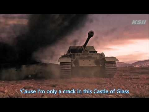 [GMV] Linkin Park : Castle of Glass with lyrics (WOT,WOWS Music Video)