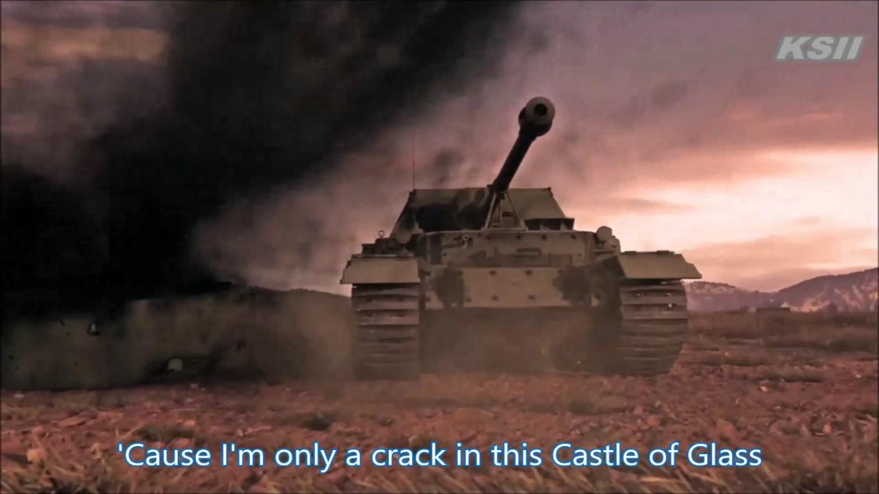[GMV] Linkin Park : Castle of Glass with lyrics (WOT,WOWS ...