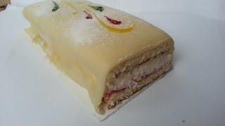 Coop Marzipan Cake