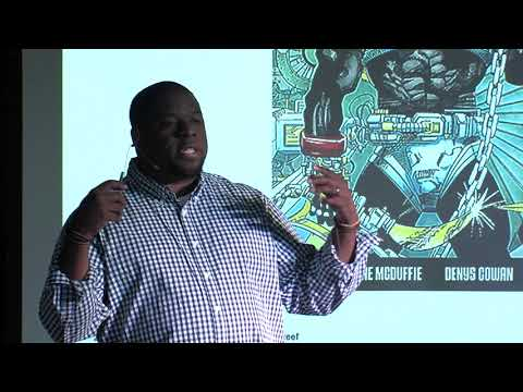 There are black comic book heroes, but none ever looked like me | Imani Lateef | TEDxToledo