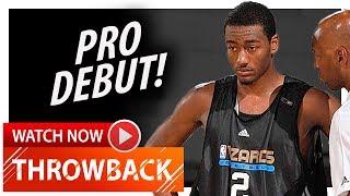John Wall PRO DEBUT Highlights vs Mavericks (2010 Summer League) - 21 Pts, 10 Ast, 7 Reb