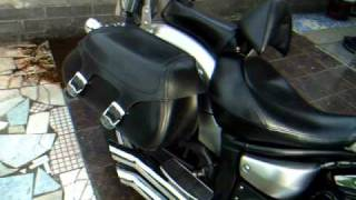 yamaha v star 1300 bub exhaust youtube