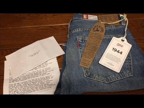 LEVIS 1944 501XX Big E Review LVC 2018 Surf Collection Cut Off Shorts